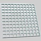 Diversitech Egg Crate Louvers – Air Return Diffusers 2'x4'X1/2'' #650-100