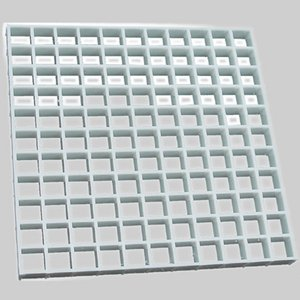 Diversitech Egg Crate Louvers – Air Return Diffusers 2'x4'X1/2'' #650-100