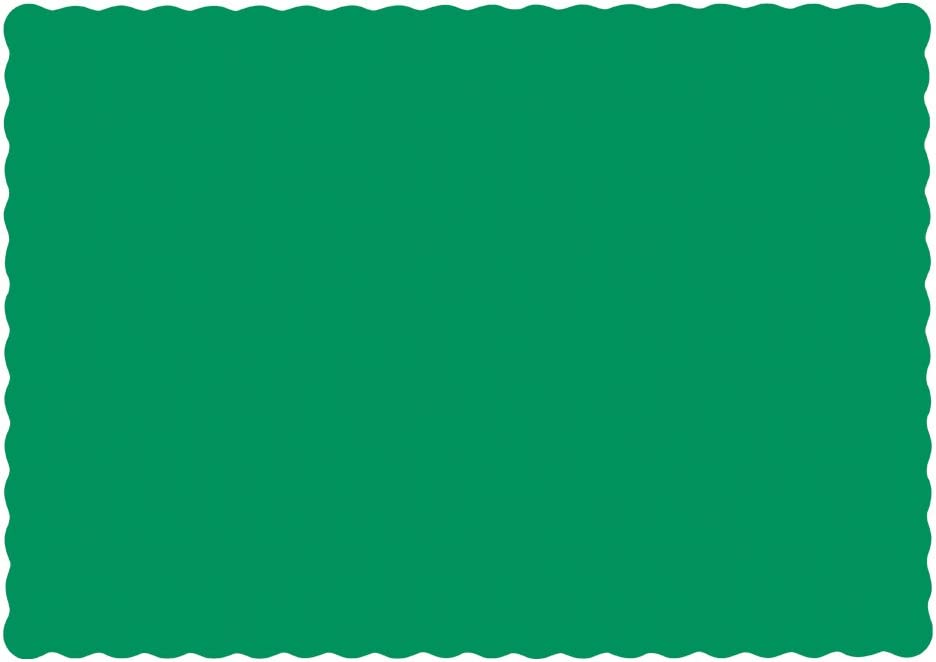 Jade Hoffmaster 310526 Recycled Paper Economy Placemat Case of 1000 13-1//2-Inch Length x 9-1//2-Inch Width