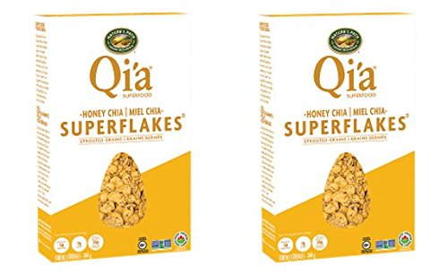 Qi'a Superfood Superflakes (Pack of 2) (Honey Chia)