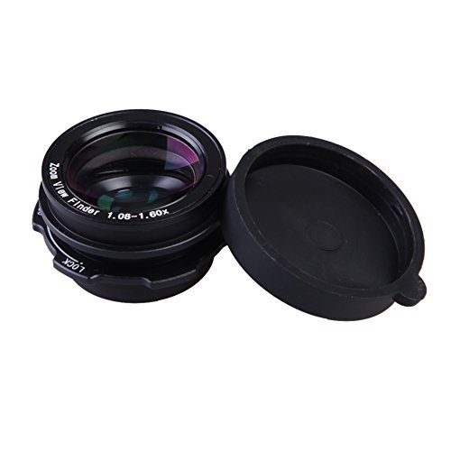 1.08x-1.60x Zoom Viewfinder Eyepiece Magnifier for Canon Nikon - 8
