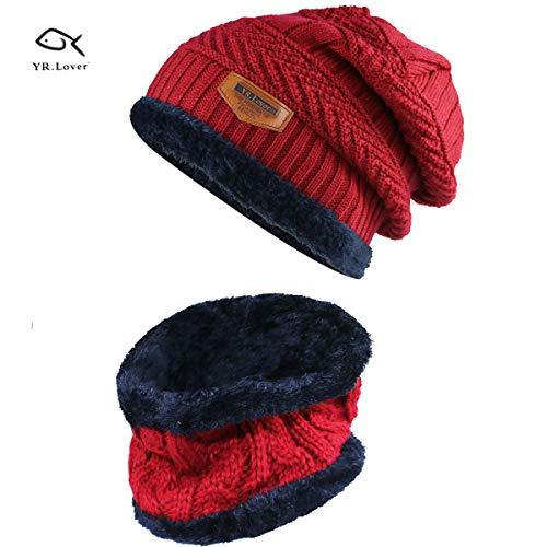 Cap Hat Scarf Set - 2
