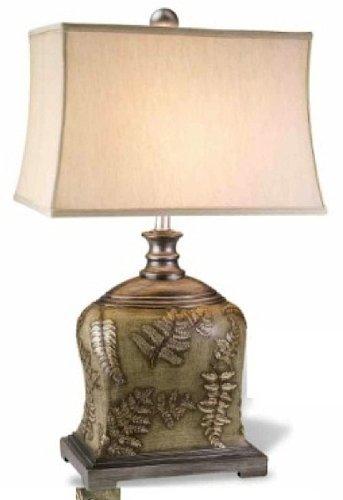 Ore International K-4224T Fern Table Lamp, 30-Inch (Fern Leaf Lamp)