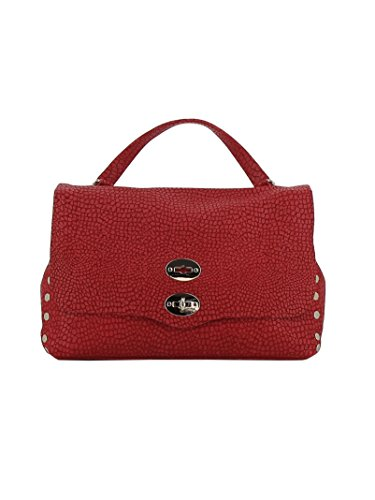 Zanellato Mujer 61343473 Rojo Cuero Bolso De Mano