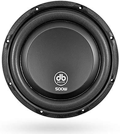 db Drive K5F 10D4 DVC Flat Subwoofer 500W Dual 4 Ω Voice Coil, 10