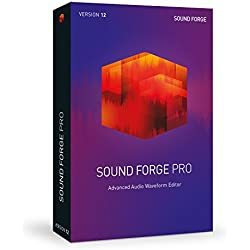 SOUND FORGE Pro – Version 12 – audio editor including mastering plug-ins