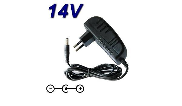 Top Cargador * Adaptador alimentación Cargador 14 V para ...