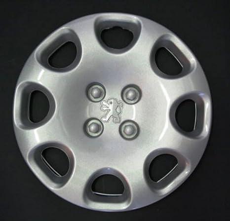 Wheeltrims Juego de 4 Ruedas Copricerchi adattabili no Originales, 464/15: Amazon.es: Coche y moto