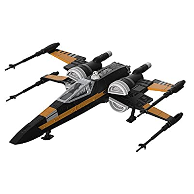 Revell Build and Play Star Wars: The Last Jedi Poe's Boosted X-wing Fighter: Toys & Games