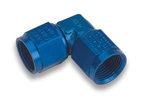 Earls 934104ERL Blue Anodized Special Purpose Aluminum Adapter