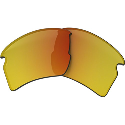Oakley Flak 2.0 Replacement Lens Fire Iridium, One Size