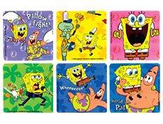 Spongebob Stickers 100 per -