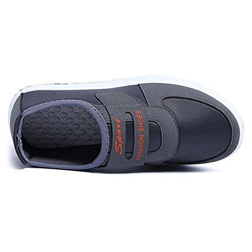 Cyber plat Chaussures De Marche Pour Les Femmes Antidérapantes Occasionnels Respirant Confortable Baskets Semelle Souple Gris