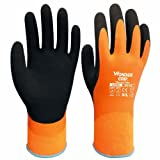 vismile Safe Cold-proof Winter Protection Double Layer Latex Water-proof Wonder Grip Gloves