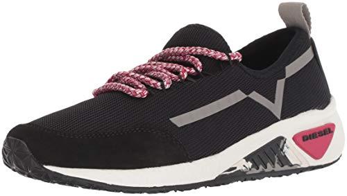 Diesel Women's SKB S-Kby W Sneaker, Black, 7.5 M ()
