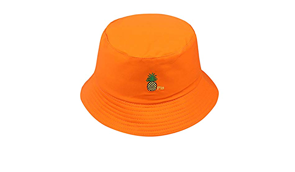 NUOBESTY 48Cmbaby Sombrero para El Sol Pescador Sombrero de Cubo Dibujos Animados Animales Marinos Sombrero de Impresi/ón Sombrero de Sol de ala Grande Ajustable para Acampar Pesca Ni/ños