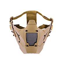 OneTigris Airsoft Steel Mesh Mask Lower Face ZM07