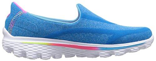 Skechers Go Walk 2 - Super Sock - Zapatillas de deporte para niñas Blu