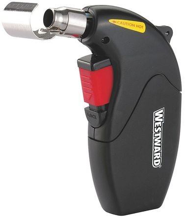 Westward 4VAA2 Flameless Microtorch, 1300 Deg F, Butane Disposable Piezo Butane Lighter