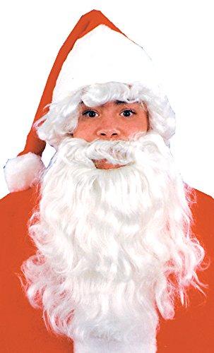 UHC Santa Wig & Beard Holiday Christmas Theme Child Halloween Costume Accessory (Child Santa Wig And Beard)