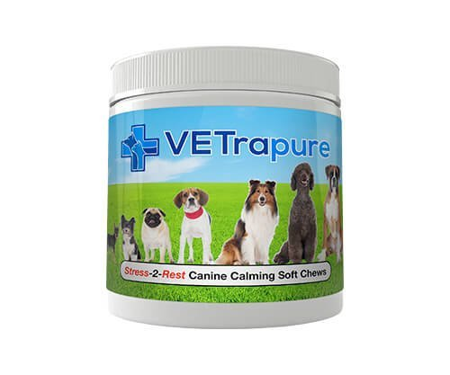 Vetrapure Stress-2-Rest Canine Calming Soft Chews (1 Pack), One Size