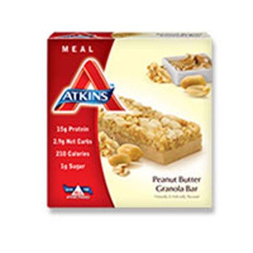 (Atkins Advantage Peanut Fudge Granola Meal Bar)