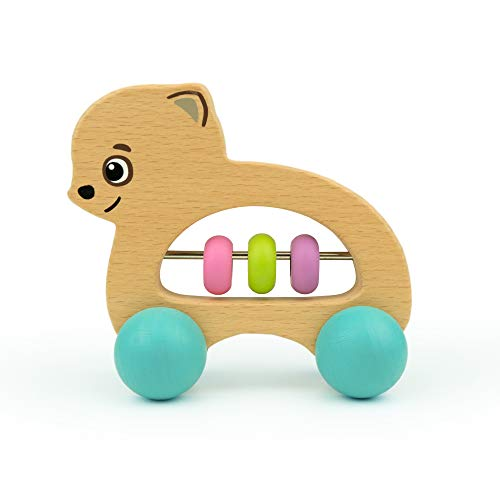 Bimi Boo Cute Puppy Wooden Push and Pull Toddler Toy