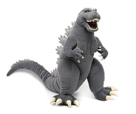 "Toy Vault 20"" Supersized Godzilla Plush Toy"