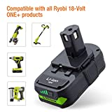 2Pack 3000mAh P108 Battery Compatible with Ryobi 18