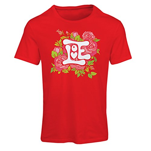 T Shirts For Women Love Me Valentine Day Gifts Idea (Medium Red Multi Color)