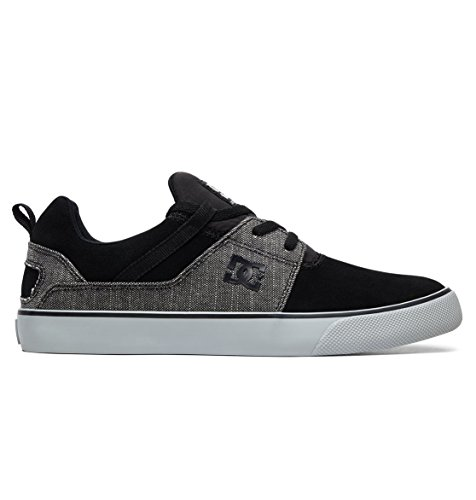 Black Para grey Hombre Shoes Se Dc Vulc Heathrow Zapatillas UqwvX0