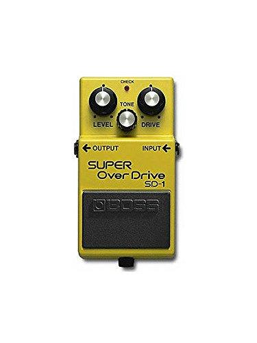 BOSS: SD-1 Super Distortion Pedal. Para guitarra eléctrica: Amazon.es: Instrumentos musicales