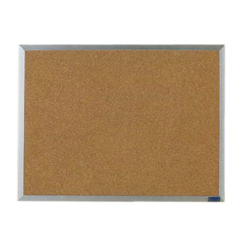Aarco AB2436 24 x 36 Inch Economy Series Aluminum Frame Corkboard