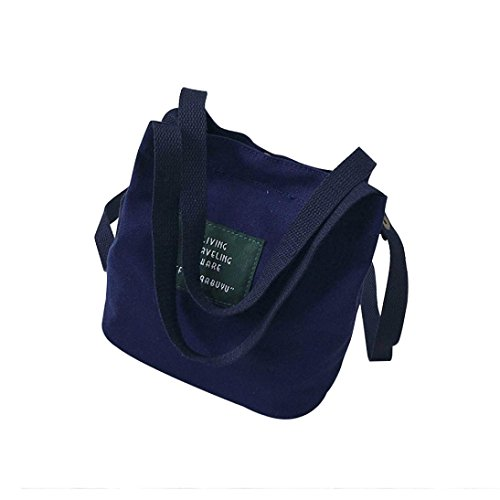 And Women'S Options Shoulder Blue Bag Different Bag Simple Dark Tote Canvas Color Tote DRESS Convenient Available 0Cwdxqaa