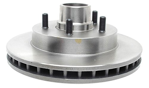 ACDelco 18A503A Advantage Non-Coated Front Disc Brake Rotor and Hub Assembly