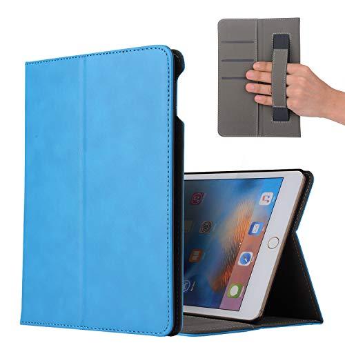 CHOMOSE Case for iPad Mini 5, PU Leather Wallet Stand iPad Case Smart Flip Protection Case Cover with Auto Sleep/Wake Function for iPad Mini 5 (iPad Mini 5,Light Blue)