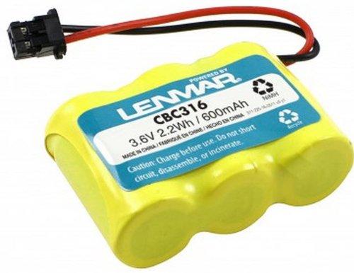 Bp 315 Replacement Battery (LENMAR CBC316 REPLACEMENT BATTERY FOR PANASONIC KX-A36 Fits: Panasonic KX-TCM410 / KX-TCM410 / Sony SPP-72 / SPP-AQ25 / SPP-AQ600 / Toshiba FF-675 / FT-6203 / TRB-6500 / Uniden XC-315 / XC-330 / XC-600. Replaces: Panasonic KX-A36 / KX-A36A / P-P301 / Sony 1-528-376-31 / BP-T16 / Uniden BP-T16 / BT-1851-528-376-31)