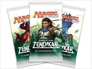 3 (Three) Packs of Magic: the Gathering - MTG: Battle for Zendikar Booster Pack Lot (3 Packs)