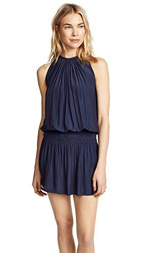 Ramy Brook Women's Paris Sleeveless Dress, Navy, Blue, XX-Small