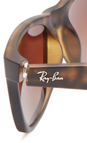 RAY BAN Homme RB4165 Lunettes de soleil 51 mm Marron (Avana)