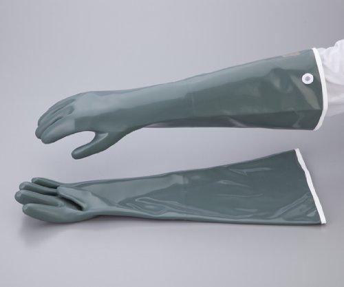 ダイヤゴム1-6177-03耐酸耐アルカリ用手袋(ダイローブ)A95-55L1双入 B07BD2PH4T