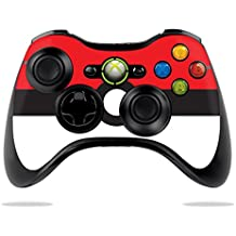 MightySkins Skin Compatible with Microsoft Xbox 360 Controller - Battle Ball | Protective, Durable, and Unique Vinyl Decal wrap Cover | Easy to Apply, Remove, and Change Styles | Made in The USA
