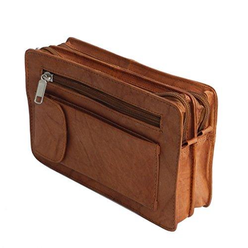de72dd6872a2e Bag Street Leder exquisite Leder Herren Handgelenktasche ...