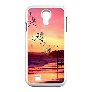 Live Laugh Love Original New Print DIY Phone Case for SamSung Galaxy S4 I9500,personalized case cover ygtg576045