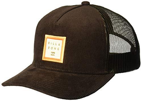 (Billabong Men's Stacked Trucker Hat Brown One Size)