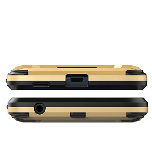 Moto G5S plus Funda,Moto G5S plus Fundas,Regalo:2.5D Vidrio Templado Protector Pantalla para Moto G5S plus,Xinyunew silicona TPU + plastico Anti Arañazos de Protectora para Moto G5S plus Gris Azul