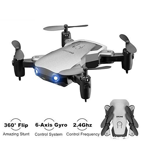 Kyerivs Mini Drone, RC Helicopter, 2.4Ghz 6-Axis Gyro 4 Channels Quadcopter Great Choice for Beginner and Kids (Without Camera)