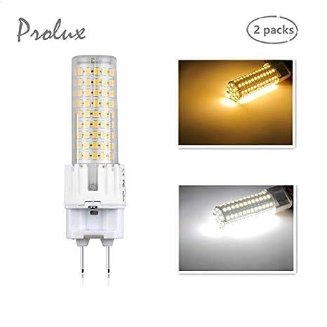 Base hogarCentros Alto LED iluminación Maíz halógenocon de G12 para Bombilla 150W G12 del 2x BrilloDos Pin 15WEquivalente 1500lm de SGqzVpUM