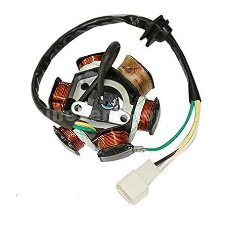 Amazon com: HUDITOOLS | Motorbike Ingition | 6 Poles 5 Wires