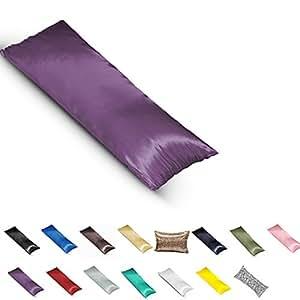 Amazon.com: TAOSON Silky Soft Satin Body Pillow Cover